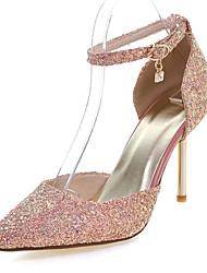 cheap -Women's Shoes Customized Materials Spring / Summer Basic Pump Stiletto Heel Black / Green / Pink / Dress