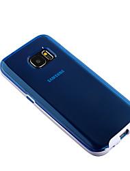 economico -Custodia Per Samsung Galaxy Samsung Galaxy S7 Edge Transparente Per retro Tinta unica PC per S7 edge / S7