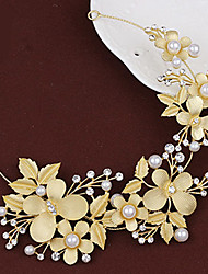 cheap -Crystal Alloy Headbands Wreaths 1 Wedding Special Occasion Headpiece
