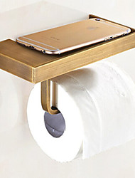 cheap -Toilet Paper Holder Antique Brass 1 pc - Hotel bath