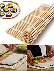 1pcs Sushi Rolling Roller Mat Sushi Roll Maker House Kitchen DIY Bamboo Sushi Mat
