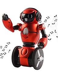 Недорогие -RC-робот F1 Внутренние и персональные роботы 2.4G пластик пение / Прогулки / Смарт самобалансировани Нет
