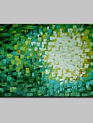 Pittura a olio moderna astratta a mano dipinta a mano mini su tela di canapa un pannello pronto a appendere