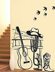 Floreale Adesivi murali Adesivi aereo da parete Adesivi decorativi da parete Adesivi foto Materiale Rimovibile Decorazioni per la casa