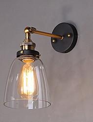 Недорогие -Деревенский стиль Настенные светильники Металл настенный светильник 110-120Вольт / 220-240Вольт 60W