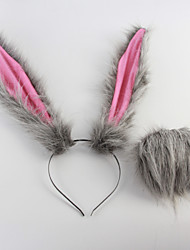 cheap -Animal Fairytale More Accessories Movie Cosplay Gray Headband Tail Halloween New Year