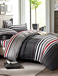 High qulity 100% Cotton Bedclothes 4pcs Bedding Set Queen Size Duvet Cover Set good qulity