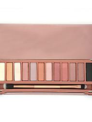 baratos -12 Sombra para Olhos / Pós Olhos Gloss Colorido Natural Respirável Maquiagem para o Dia A Dia / Maquiagem para Dias das Bruxas / Maquiagem de Festa Maquiagem Cosmético