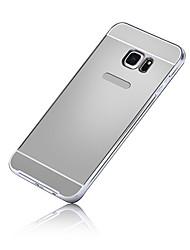 billiga -SHI CHENG DA fodral Till Samsung Galaxy Samsung Galaxy S7 Edge Plätering Skal Enfärgad PC för S7 edge / S7 / S6 edge plus