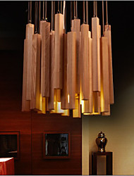 Hotel Engineering Wood Art Personality Line Room Chandelier High Quality