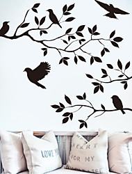 cheap -Evelle Had 8208 New Branches Birds Bedroom Living Room Wall Paper Wholesale Custom Hand Carved Background
