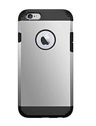 Pour iPhone X iPhone 8 iPhone 6 iPhone 6 Plus Etuis coque Antichoc Coque Arrière Coque Armure Dur Polycarbonate pour iPhone X iPhone 8