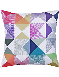 Geometric Modern/Contemporary Polyester Pillow With Insert 18x18 inch