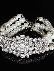 cheap -Women's Chain Bracelet Imitation Pearl Imitation Pearl / Rhinestone