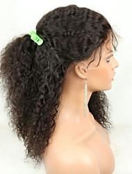 Joywigs African American Wig Glueless Brazilian Virgin Remy Human Hair 150% Density Wavy Lace Front /Full Lace Wig