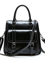 Women Bags All Seasons PU Patent Leather Backpack for Shopping Casual Sports Outdoor Black Red Green Blue Wine