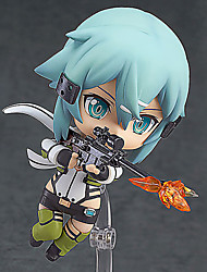 Anime Action-Figuren Inspiriert von Sword Art Online Shino PVC 10 CM Modell Spielzeug Puppe Spielzeug