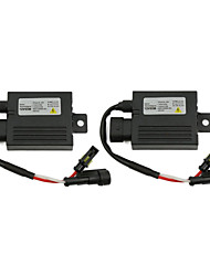2pcs Universal 12V 55W Ultra Slim Digital HID Xenon Ballast Replacement Conversion