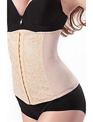 Недорогие -женские новые корсетные топы черный corselet s ~ 6xl плюс размер талии тренировочный пояс
