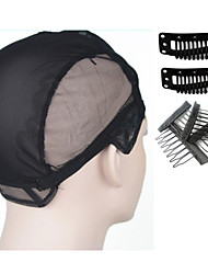 cheap -Other Material Wig Caps Clips Clips Scalp Protective Shields High Quality 1 Wig Accessories Daily Classic