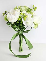 Недорогие -Искусственные Цветы 11 Филиал Свадебные цветы Розы / Гортензии / Пионы Букеты на стол