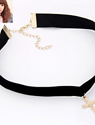cheap -Women's Choker Necklace Tattoo Choker Gothic Jewelry  -  Tattoo Style Fashion Black Necklace For Party Daily Casual