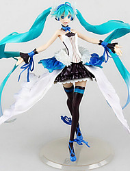 cheap -Anime Action Figures Inspired by Vocaloid Hatsune Miku 27cm CM Model Toys Doll Toy