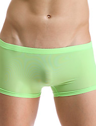 cheap -Men's Sexy Underwear   High-quality  Ice Silk Boxers