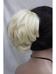 cheap -Clip In Ponytails Synthetic Hair Hair Piece Hair Extension Wavy