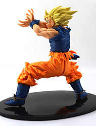 cheap -NEW Hot 18cm Dragon Ball Z Super Saiyan Son Goku Kakarotto PVC Action Figure Toys
