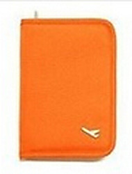 cheap -Passport Holder & ID Holder Multi-function Travel Storage for Multi-function Travel Storage Black Orange Gray Red