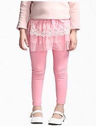 Pantaloni Girl Per tutte le stagioni Cotone Nero / Blu / Rosa / Grigio Collage