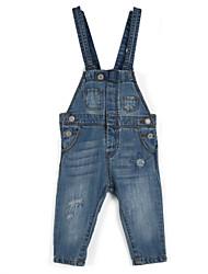 cheap -Girls' Daily Jeans, Cotton All Seasons Dresswear Light Blue
