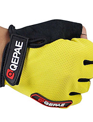 cheap -QEPAE Sports Gloves Bike Gloves / Cycling Gloves Keep Warm Breathable Wearproof Anti-skidding Protective Shockproof Fingerless Gloves