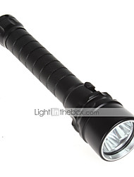 cheap -Lights LED Flashlights/Torch 5000 Lumens Mode Cree XM-L T6 18650 WaterproofCamping/Hiking/Caving / Everyday Use / Diving/Boating /