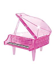 Недорогие -Пазлы 3D пазлы / Хрустальные пазлы Строительные блоки DIY игрушки Пианино ABS Оранжевый Модели и конструкторы