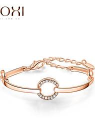 Недорогие -18k золото / серебро кристалл браслет ювелирные изделия для женщин
