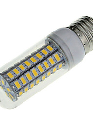 7W E14 E26/E27 LED Corn Lights T 72 SMD 5730 600 lm Warm White Cold White 2800-3200/6000-6500 K Decorative AC 220-240 V 1pc
