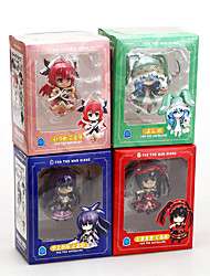 cheap -Anime Action Figures Inspired by Date A Live Cosplay PVC(PolyVinyl Chloride) 10 cm CM Model Toys Doll Toy