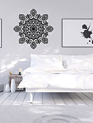 cheap -9486 Indian Namaste Words Religion Wall Decal Vinyl Lotus Yoga Sticker Buddha Ganesha Home Decor Bedroom Flower Mural
