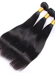 6A Brazilian Virgin Hair 3 Bundles 150G Straight Human Hair Virgin Brazilian Straight Hair