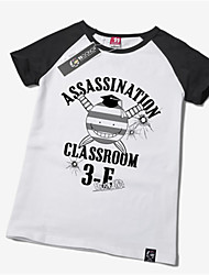 Вдохновлен Покушение класс Korosensei Аниме Косплэй костюмы Косплей футболка С принтом С короткими рукавами Футболка Назначение