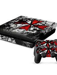 cheap -New Protective Sticker Cover Skin for PS4(TN-PS4-0094)