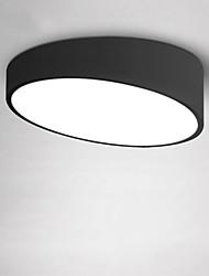 billiga -40cm modern stil 24w enkelhet ledde taklampa flush mount vardagsrum sovrum barn rum ljus fixtur