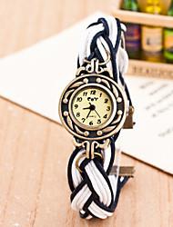 cheap -Women's Fashion Watch Quartz Casual Watch Fabric Band Bohemian Multi-Colored