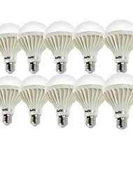 7W E26/E27 LED Globe Bulbs A70 12 SMD 5630 550-600 lm Cold White 6000 K Decorative AC 220-240 V