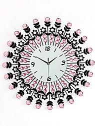 Недорогие -Современный утюг алмазов часы стены конструкции