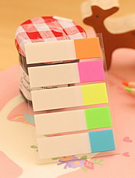 cheap -Half Color Stripe Self-Stick Notes(1 PCS)