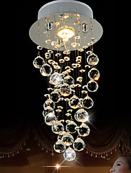 cheap -LightMyself 35W Modern/Contemporary Crystal Others Crystal Pendant LightsLiving Room / Bedroom / Dining Room / Kitchen