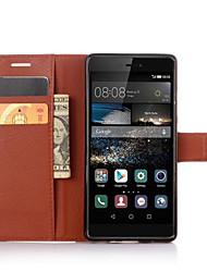 Luxus-Vintage-Mappe PU-Schlag-Lederabdeckung Fall für Huawei Ascend P9 / P9 lite / P9 plus / p8 / p8 lite / Nexus 6P / Ehre 4x